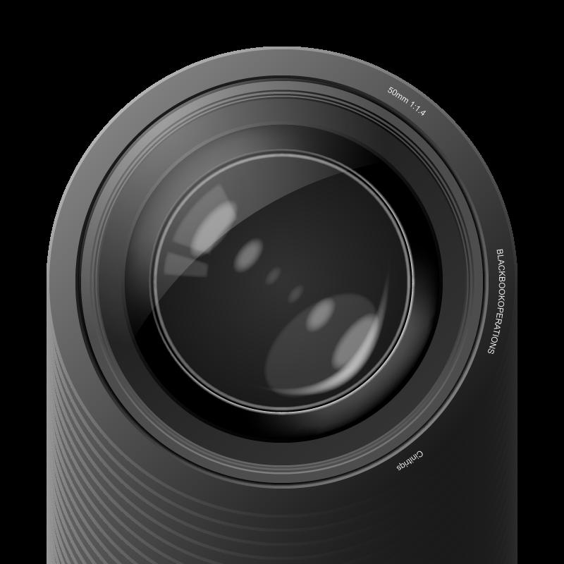 Aperture Camera Lens Vector | Digital